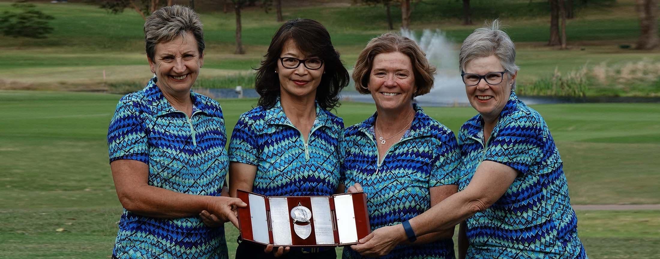 2017 Coronation Medal Winners - Pymble GC