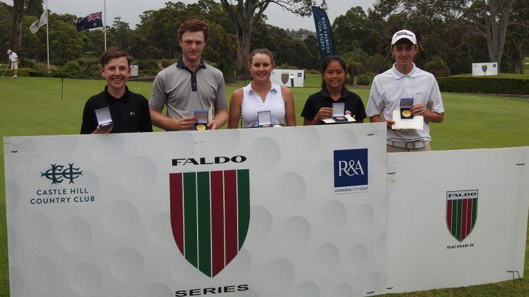 2018 Faldo Series winners