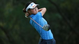 Grace Kim in the NSW Amateur Semi finals