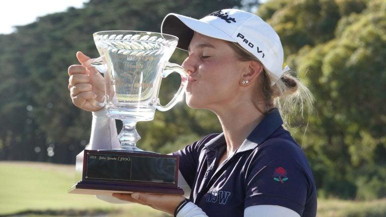 Stephanie Kyriacou victorious in the #AMOTA19
