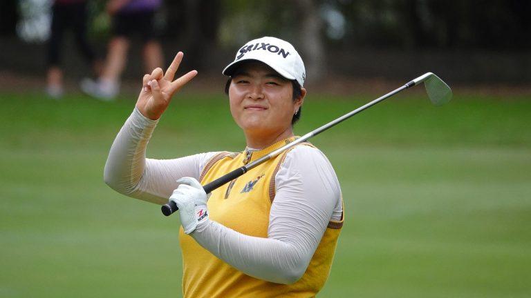 Hannah Park leads the women's NSW Open