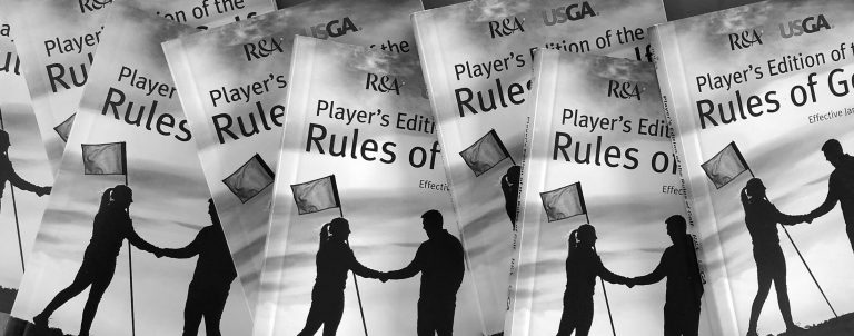 2019 Rules of Golf