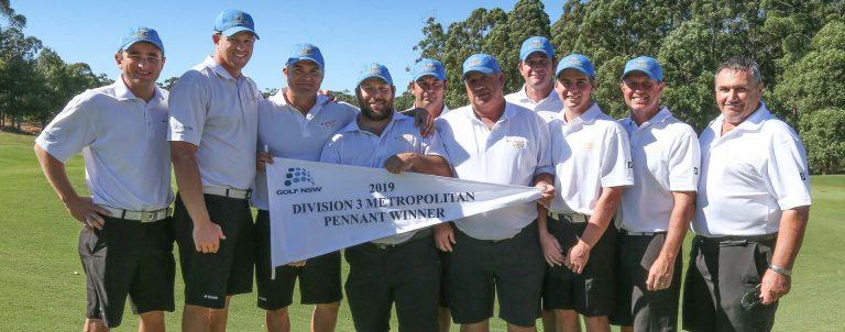 Metropolitan Major Pennant Division three winners Lakeside