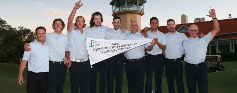 Metropolitan Major Pennant Division One Winners NSW