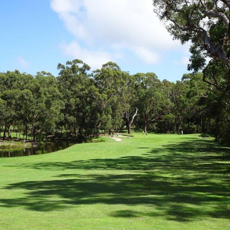 VIE OF Nelson Bay Golf Club