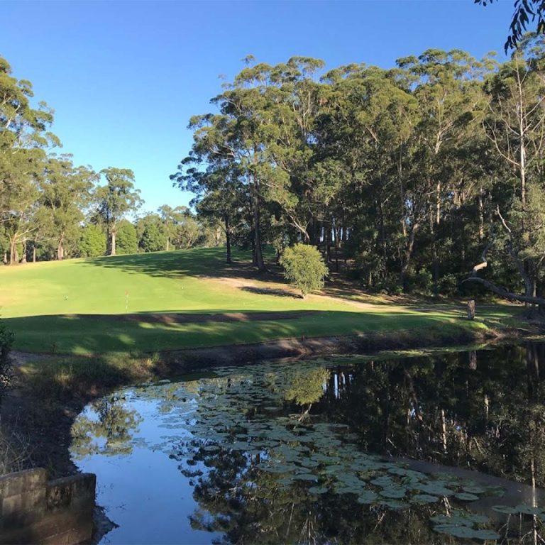 Scenes around Mollymook Golf Course