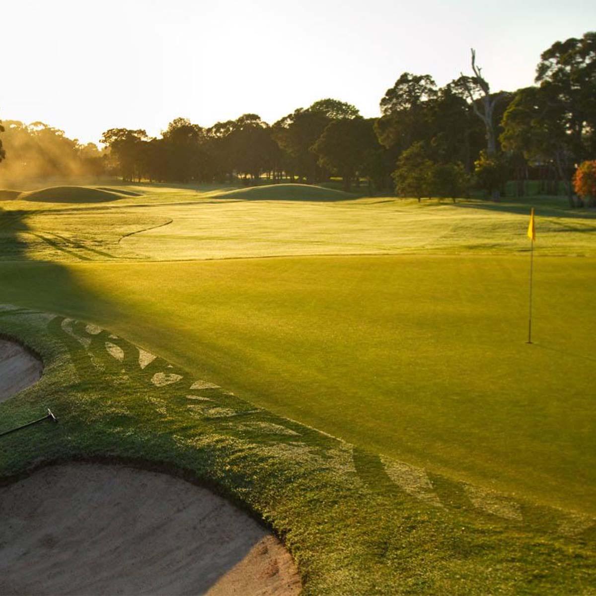 Scenes around Bankstown Golf Club