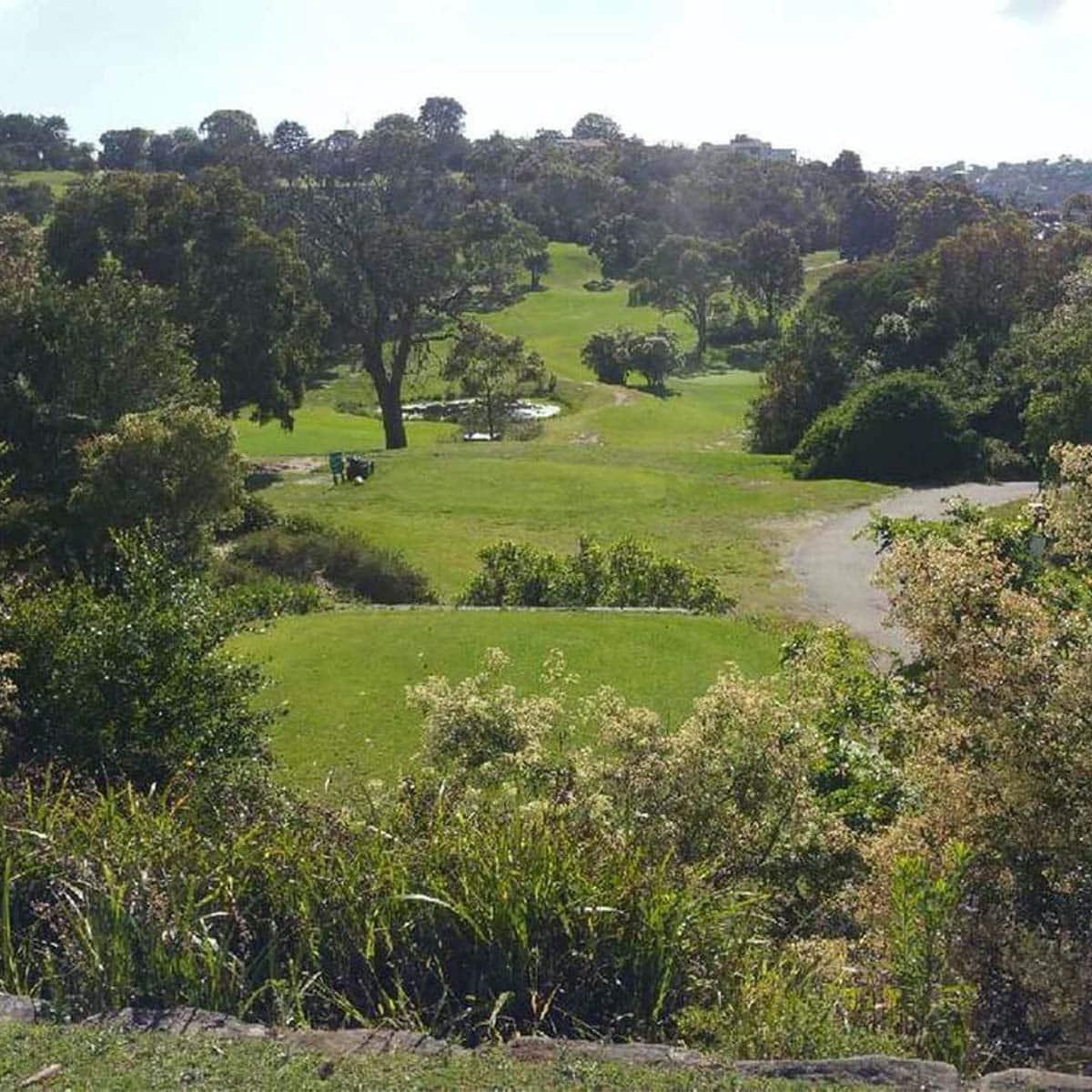 Scenery around the course at Northbridge Golf Club