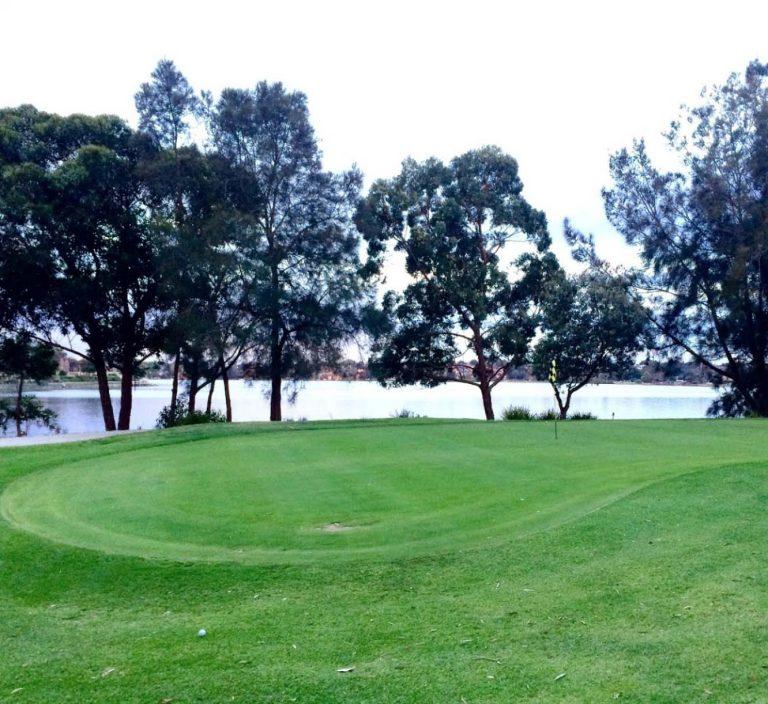 scenery of Barnwell Park Golf Club