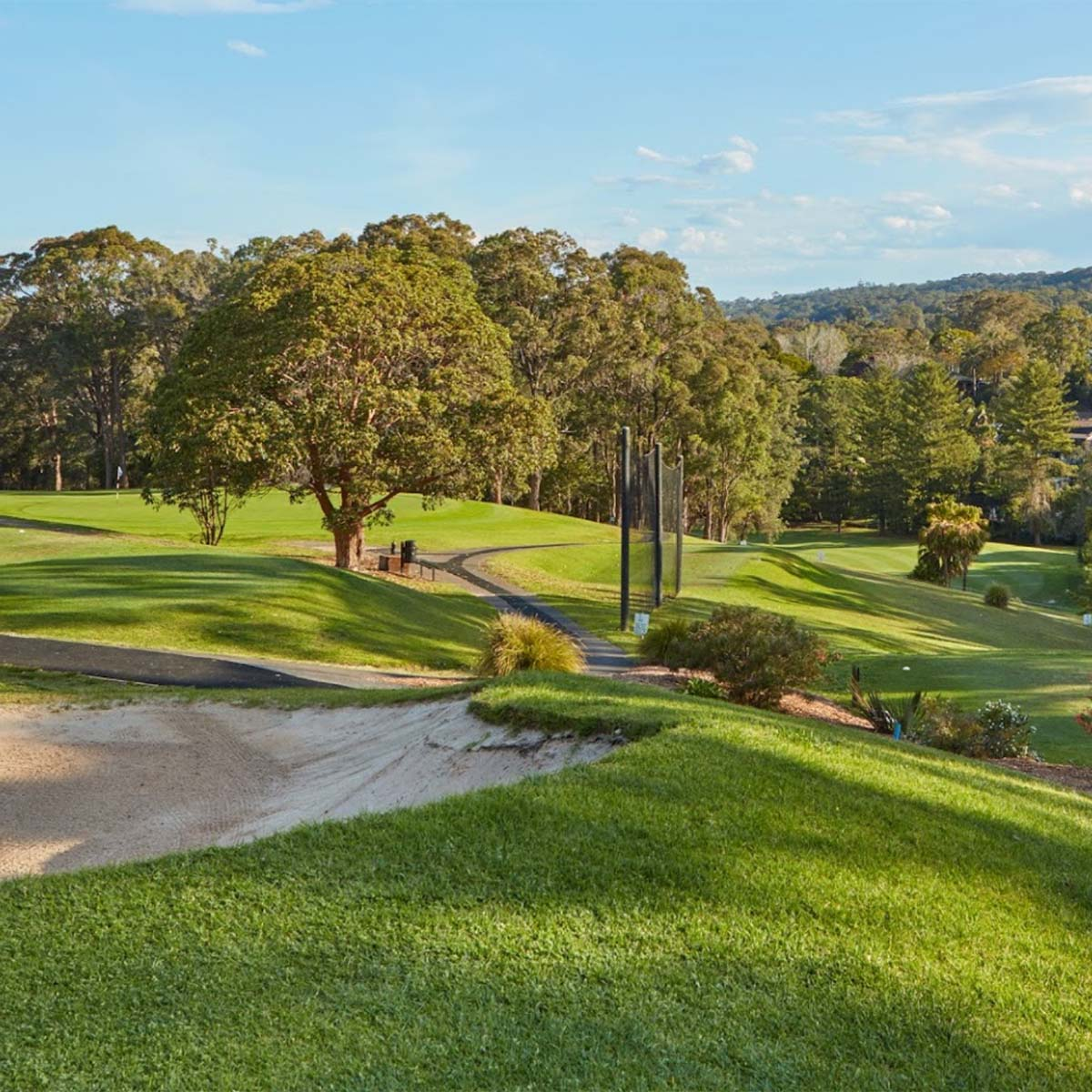 Course view of Bayview Golf Club