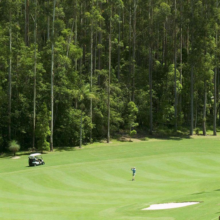 spectacular scenery around the beautiful Bonville Golf Resort