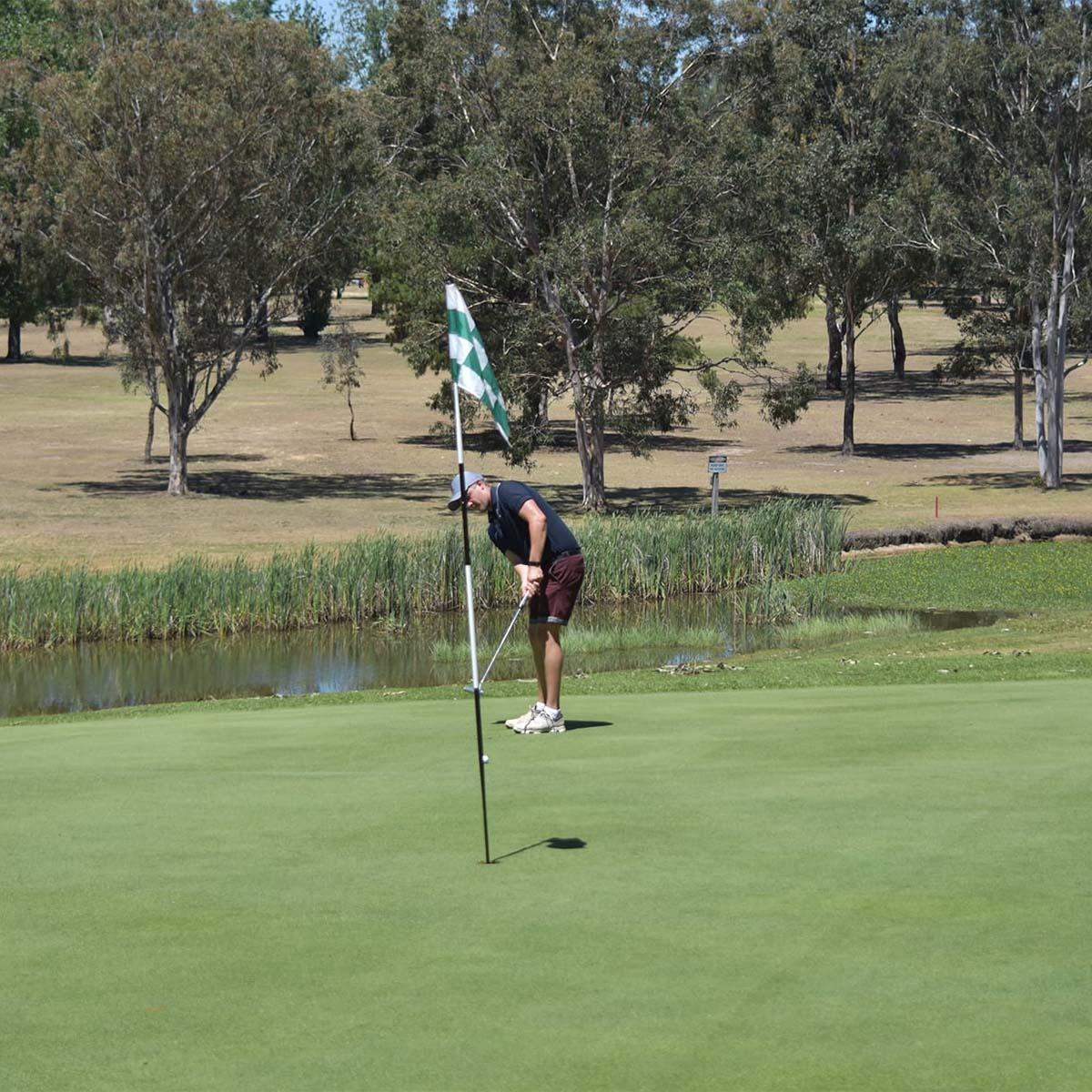 scenery at Branxton Golf Club