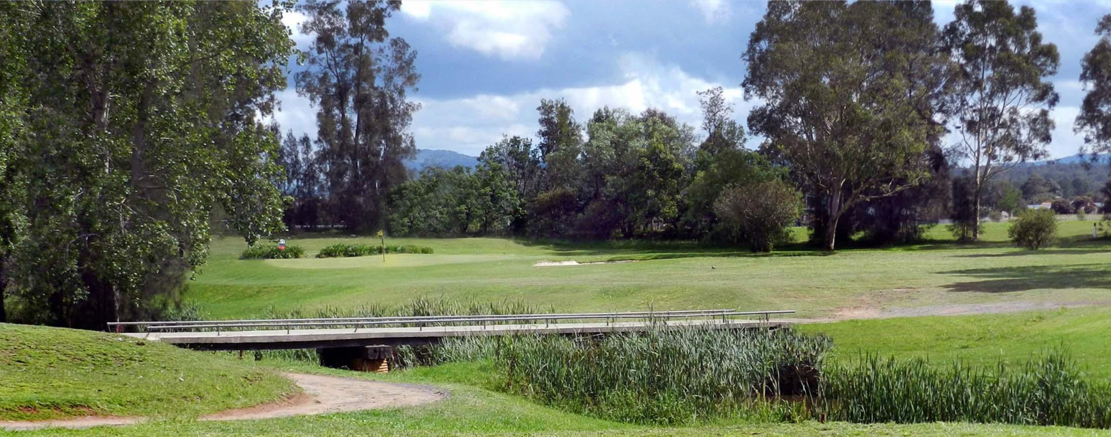 A view of Branxton Golf Course