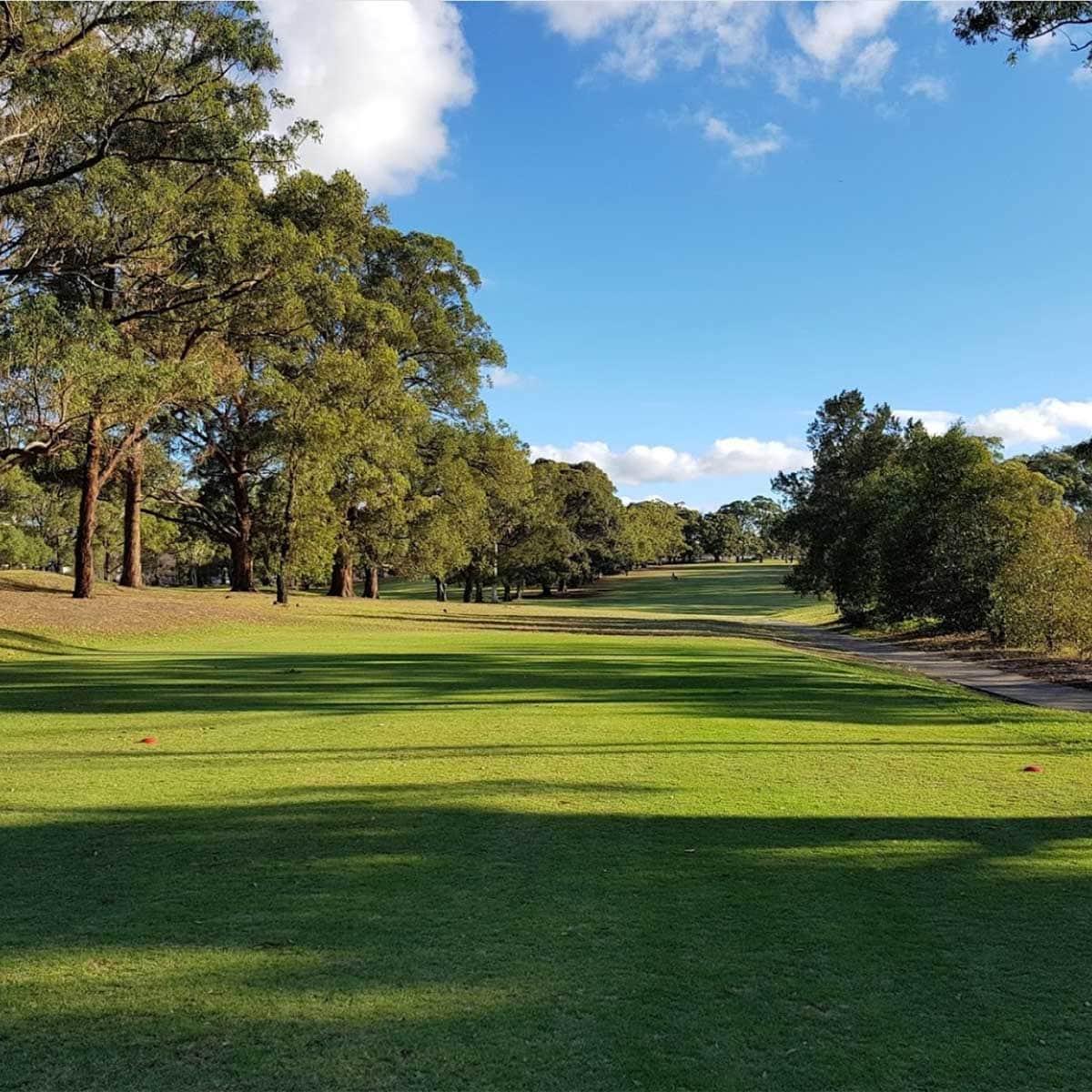 scenes from the Carnarvon Golf Club