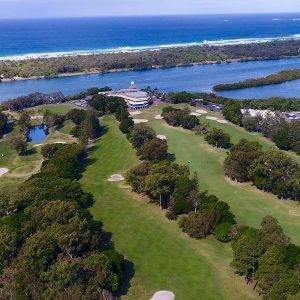Images of the golf course at Coolangatta Tweed Heads Golf Club