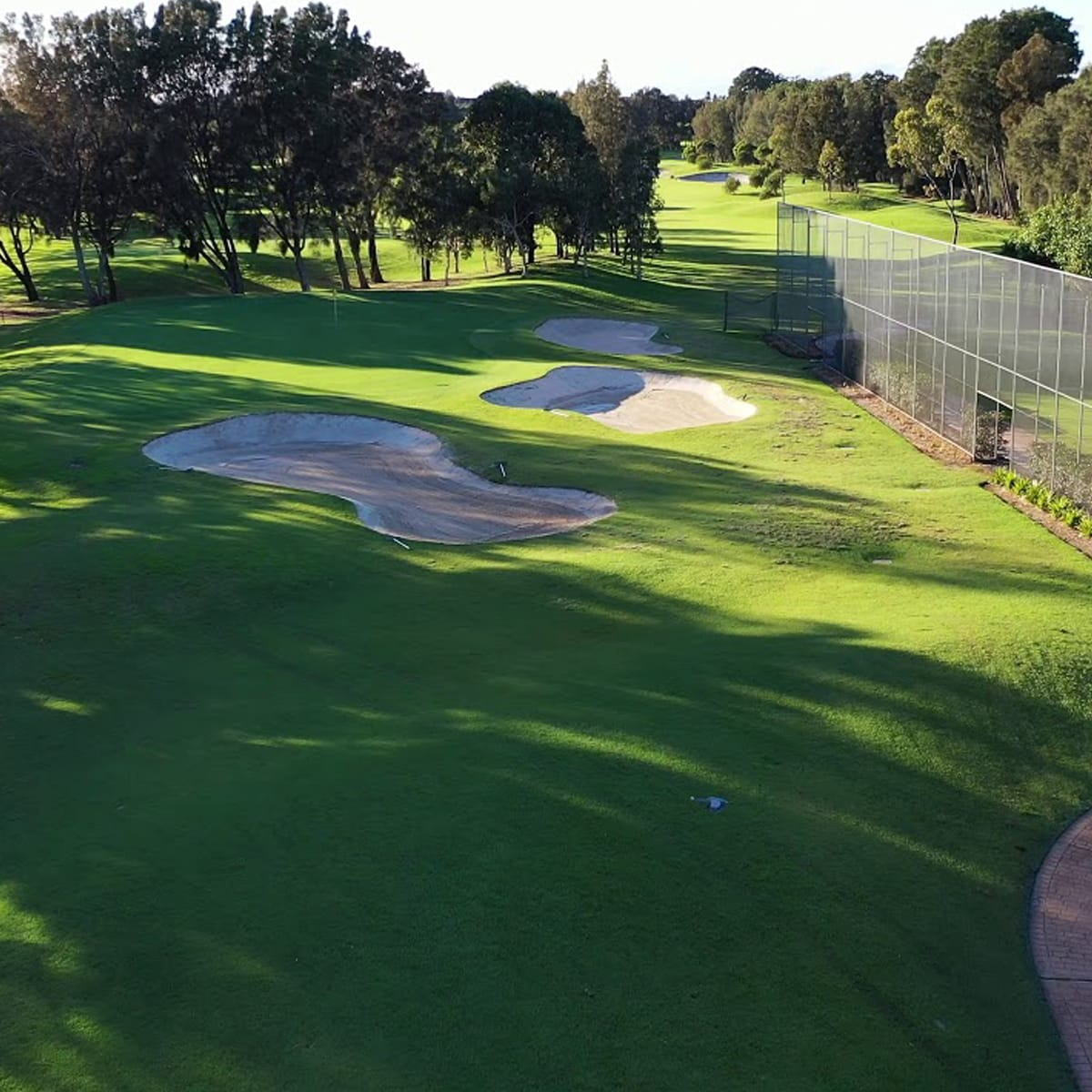 Here are some views of the golf course at Cronulla Golf Club