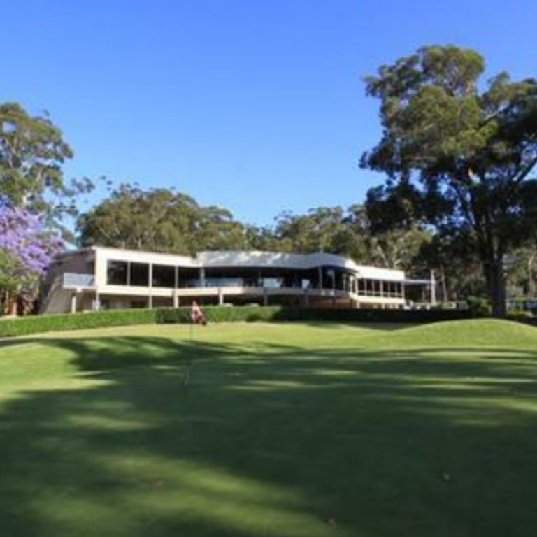 Images of the golf course at Gosford Golf Club