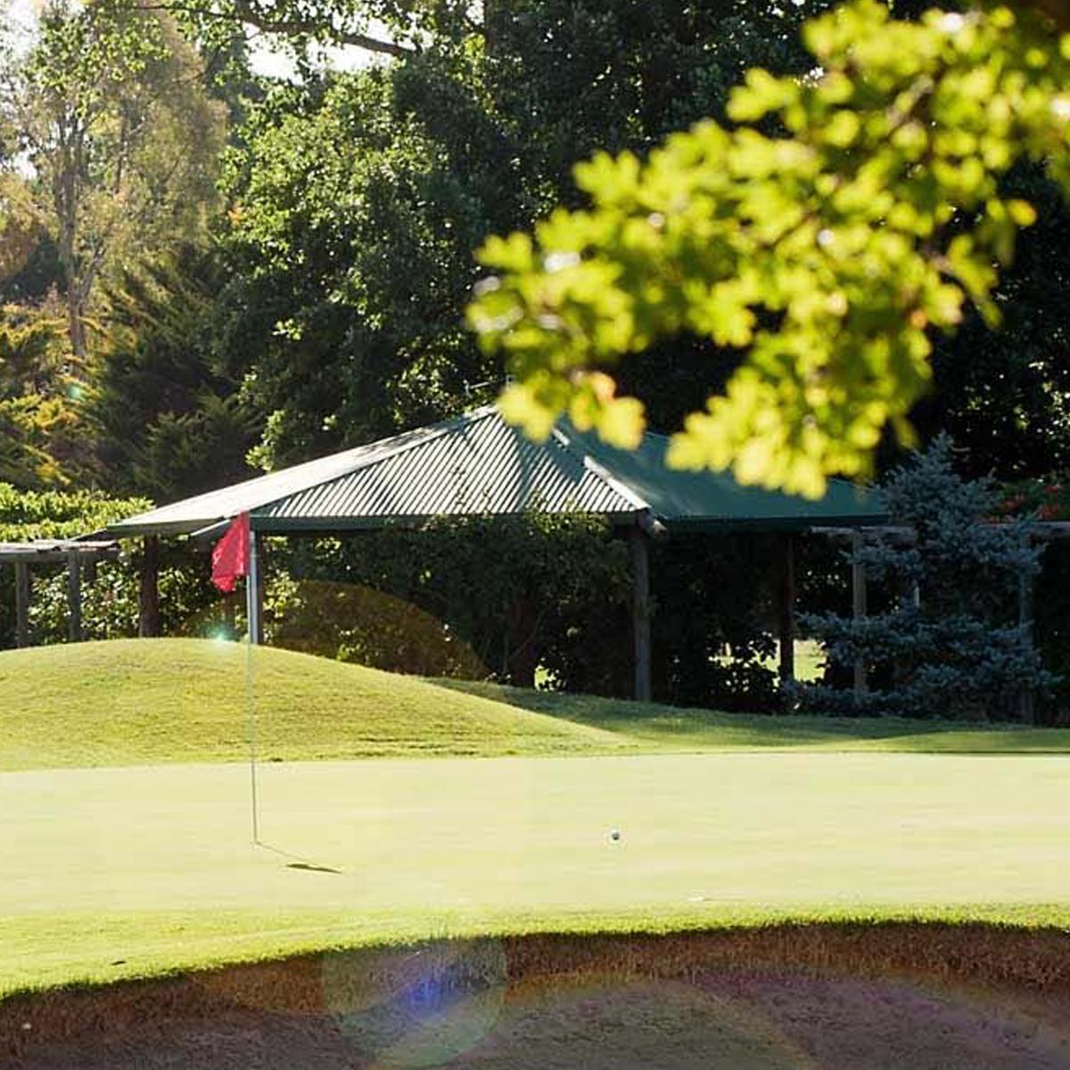 Views of the golf course at Goulburn Golf Club