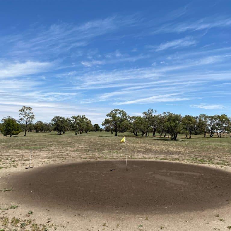 Hillston Golf Club sand greens CWebb4