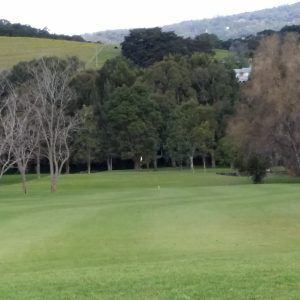 Images of the golf course at Jamberoo Golf Club