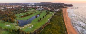Aerial View of Mona Vale Golf Club