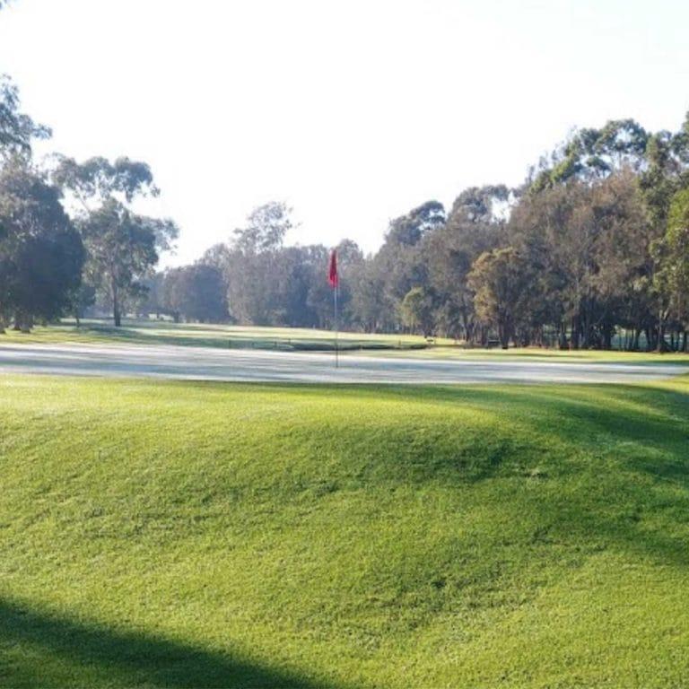 a scene of Moruya Golf Club