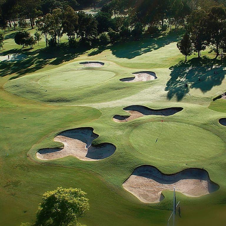 Oatlands Golf Club Bunker