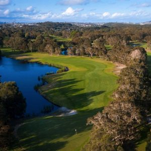 A view of the course at Port Kembla Golf Club