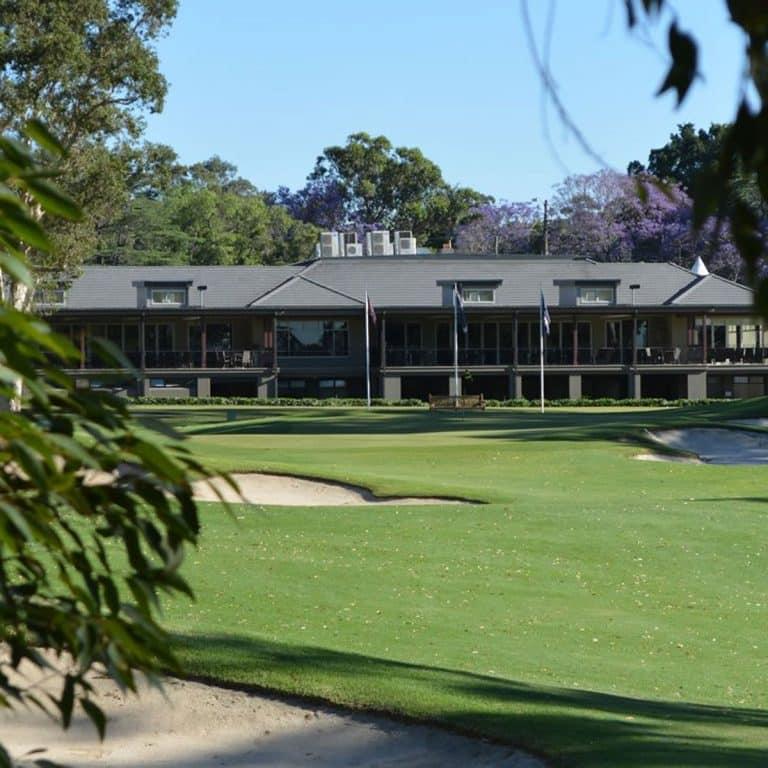 Ryde-Parramatta Golf Clubhouse