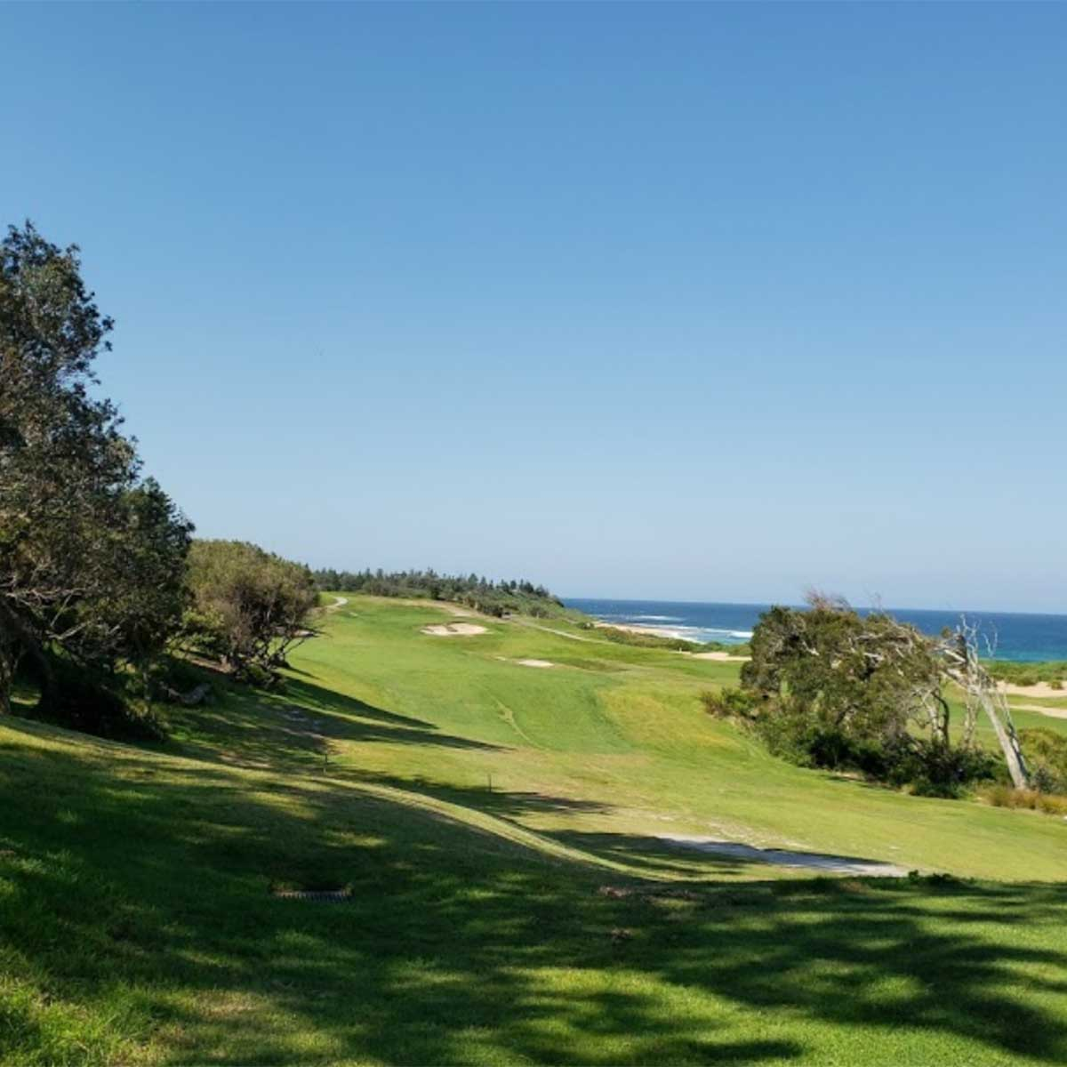 Picture of Spectacular views at Shelly Beach Golf Club
