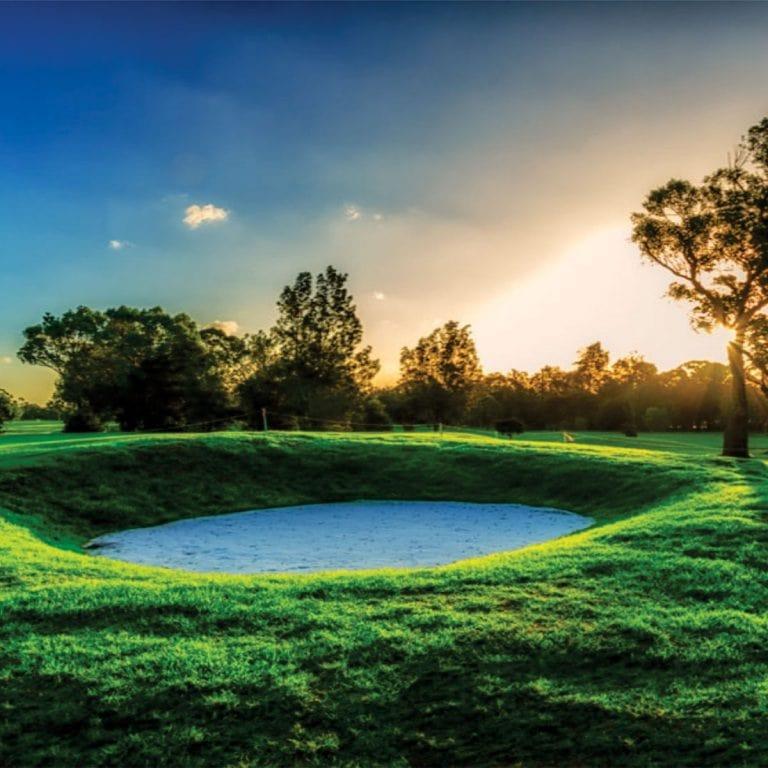 Waratah Golf Club bunker