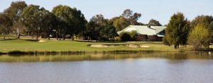 A view of the club house at Murrumbidgee Country Club