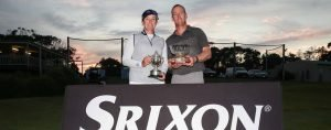 Adele Douglas and Chris Campbell 2019 Srixon Mid Amateur Champions at Shoalhaven Heads Golf Club