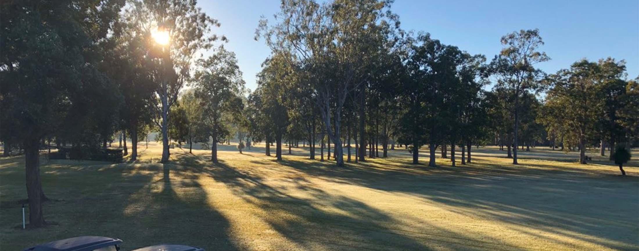 A view of WWoodburn-Evans Head Golf Club