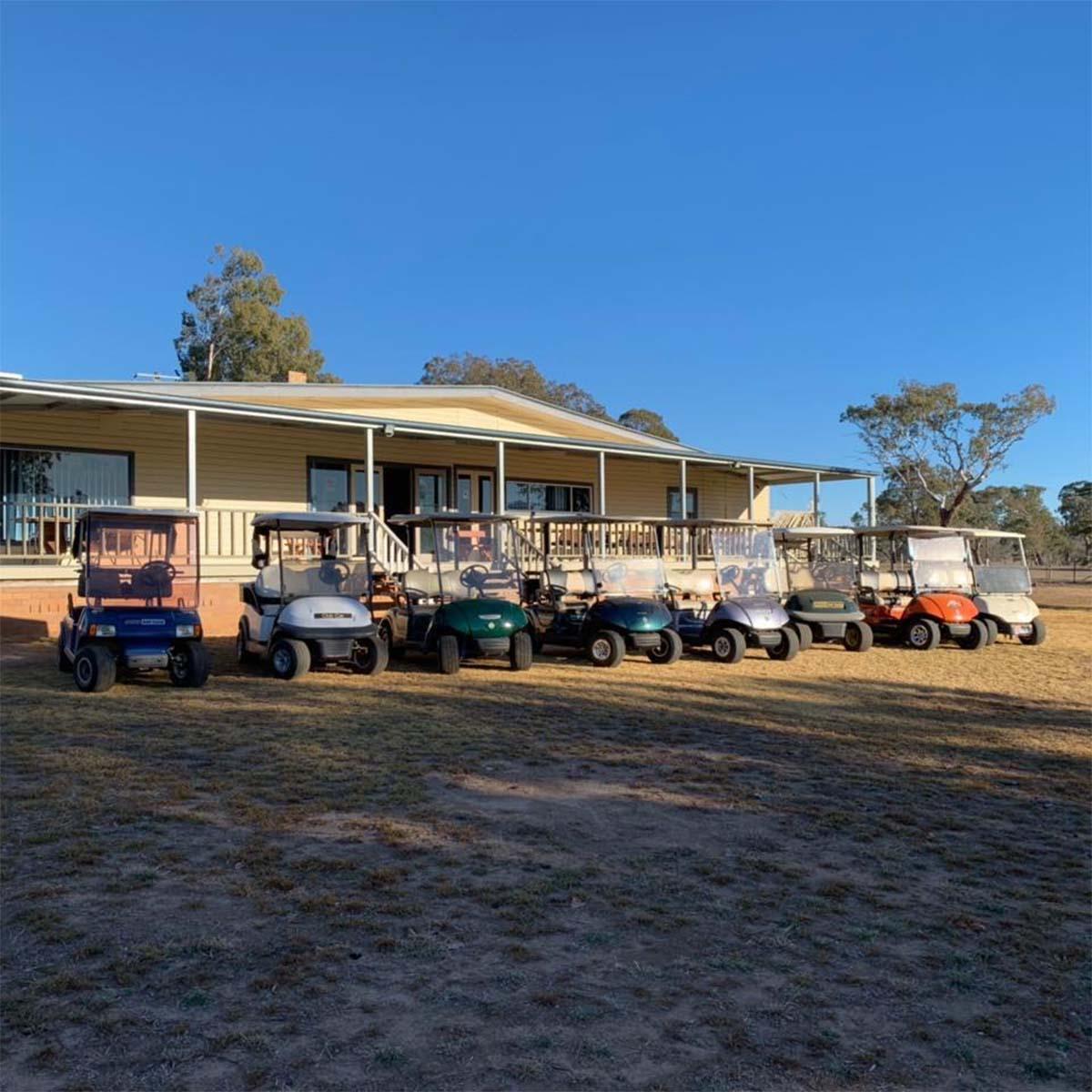 scens around Barraba Golf Club