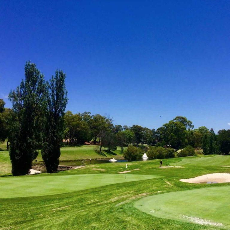 Scenery around Bexley Golf Club