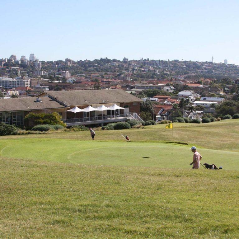 scenes around Bondi Golf Club