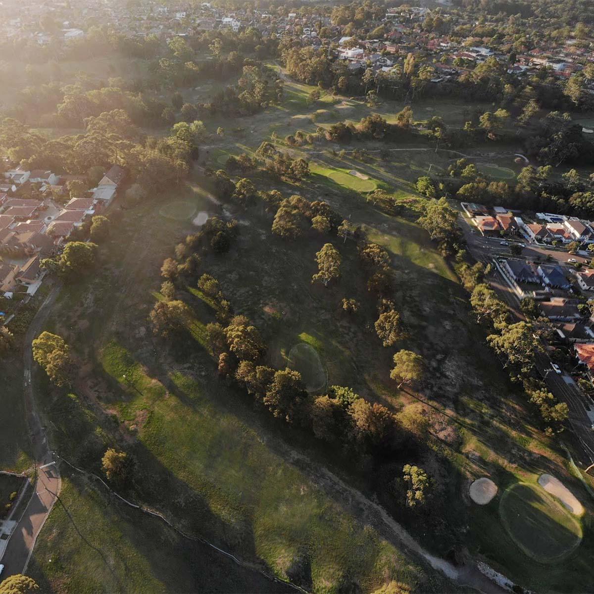 scenes of Bardwell Valley Golf Club