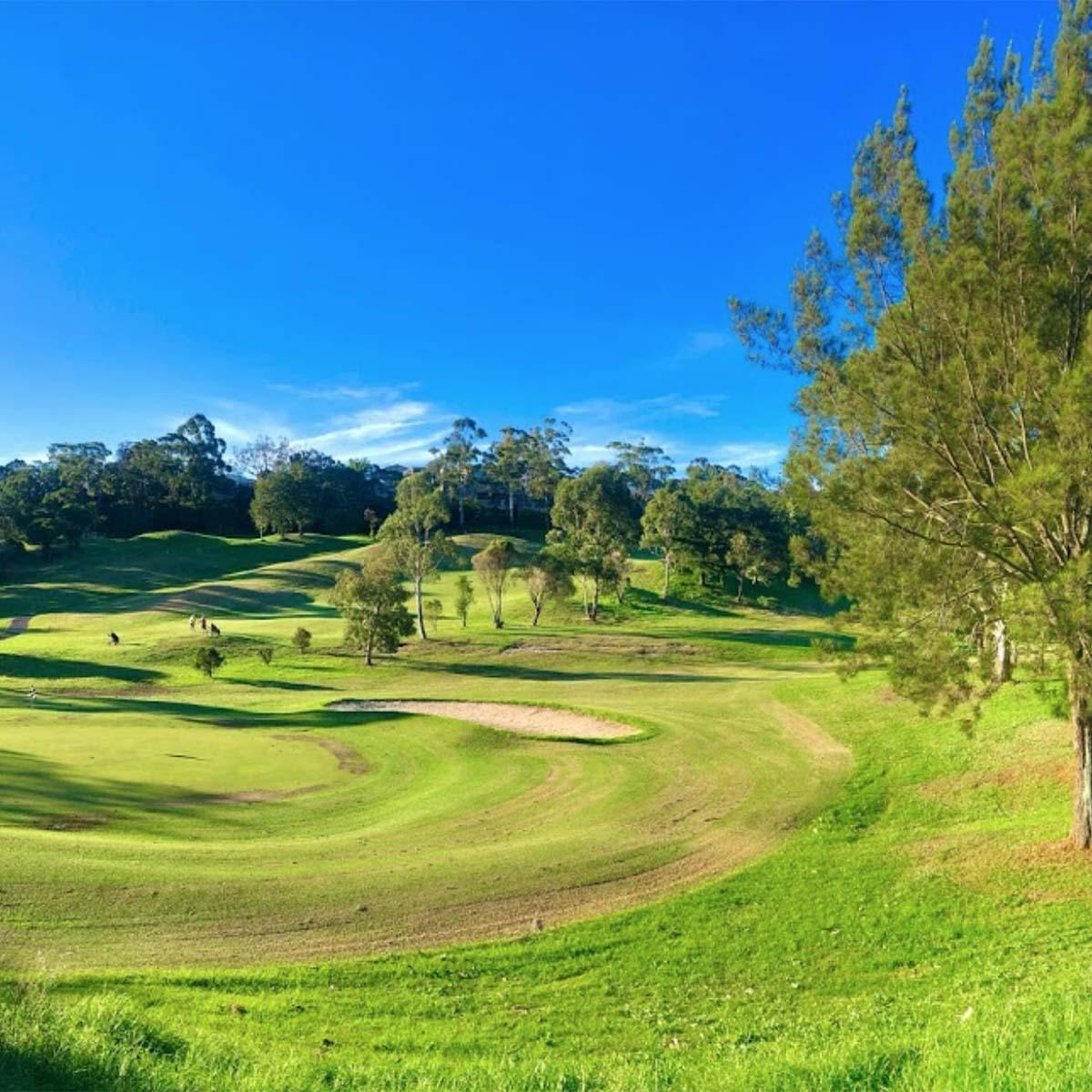 scenes around Bardwell Valley Golf Club
