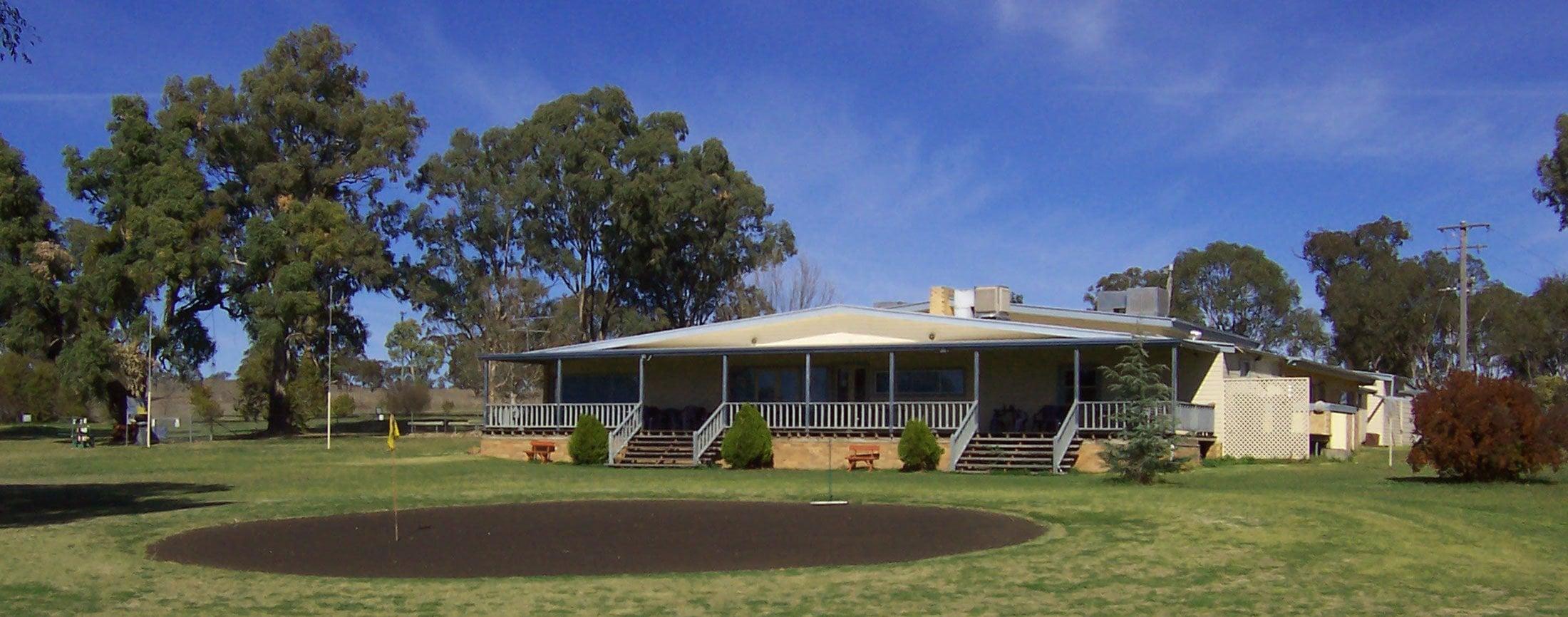 Barraba Golf Club clubhouse