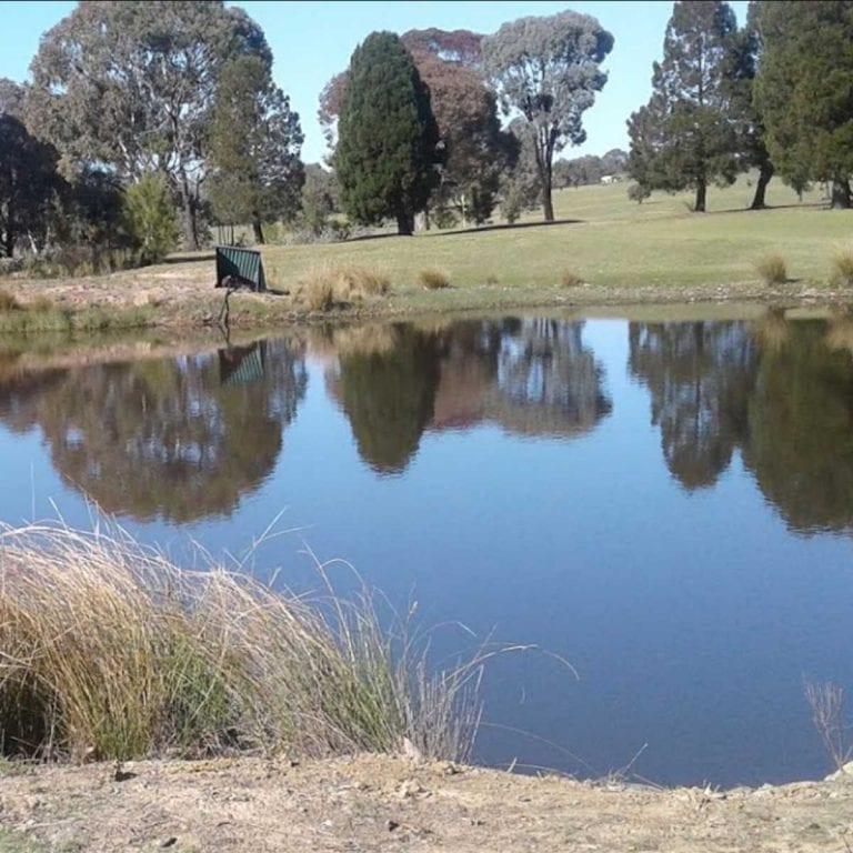 Scene of Clover Leigh Golf Club