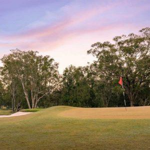 Scene of Coffs Harbour Golf Club