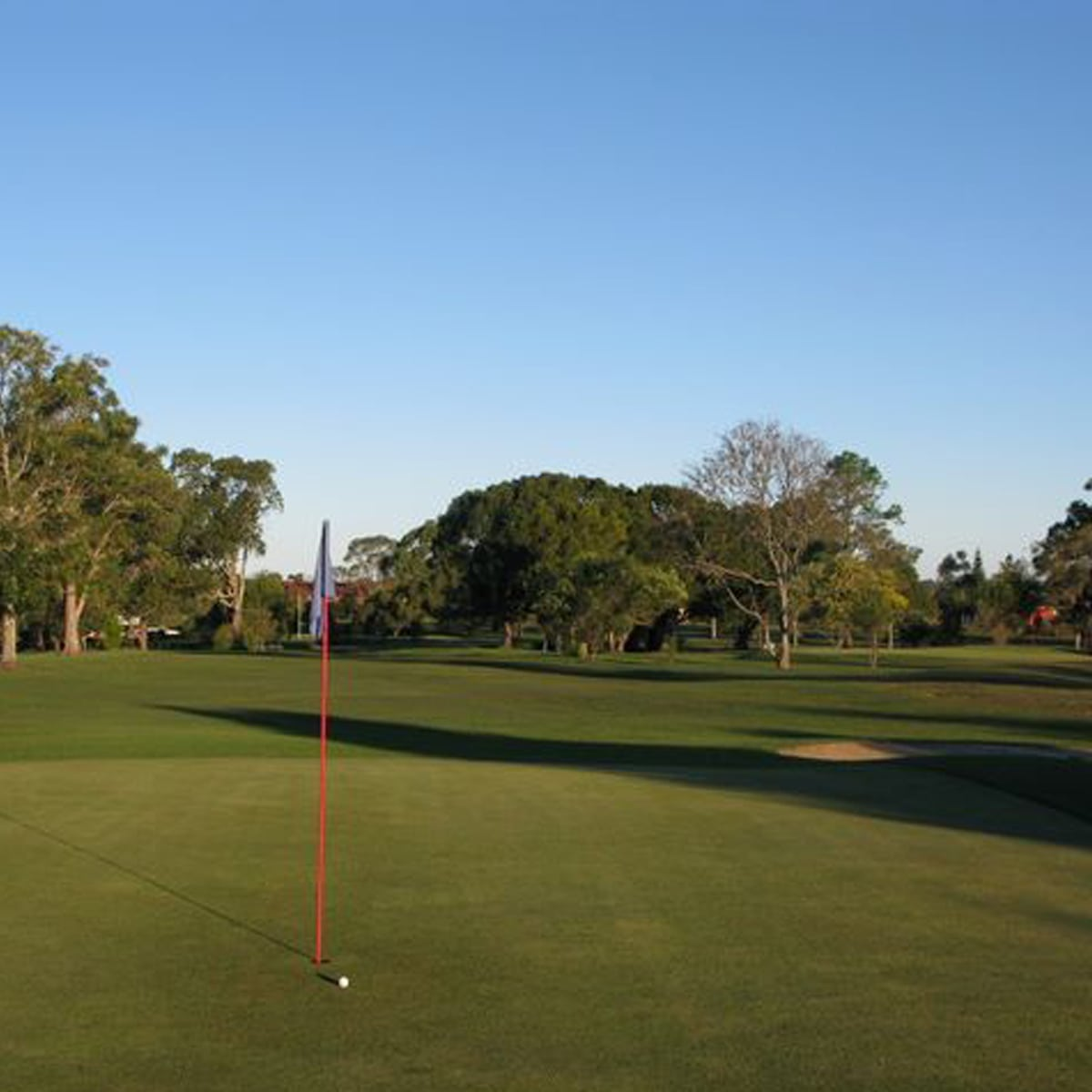 Views of the golf course at Coraki Golf Club