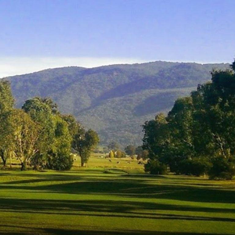 Views of Corryong Golf Club