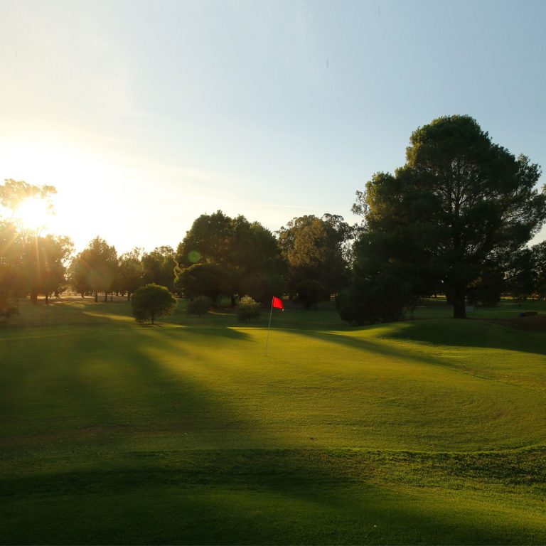 Scenery of the golf course at Forbes Golf Club