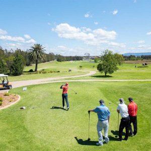 scene shot of Worrigee Links Golf Club