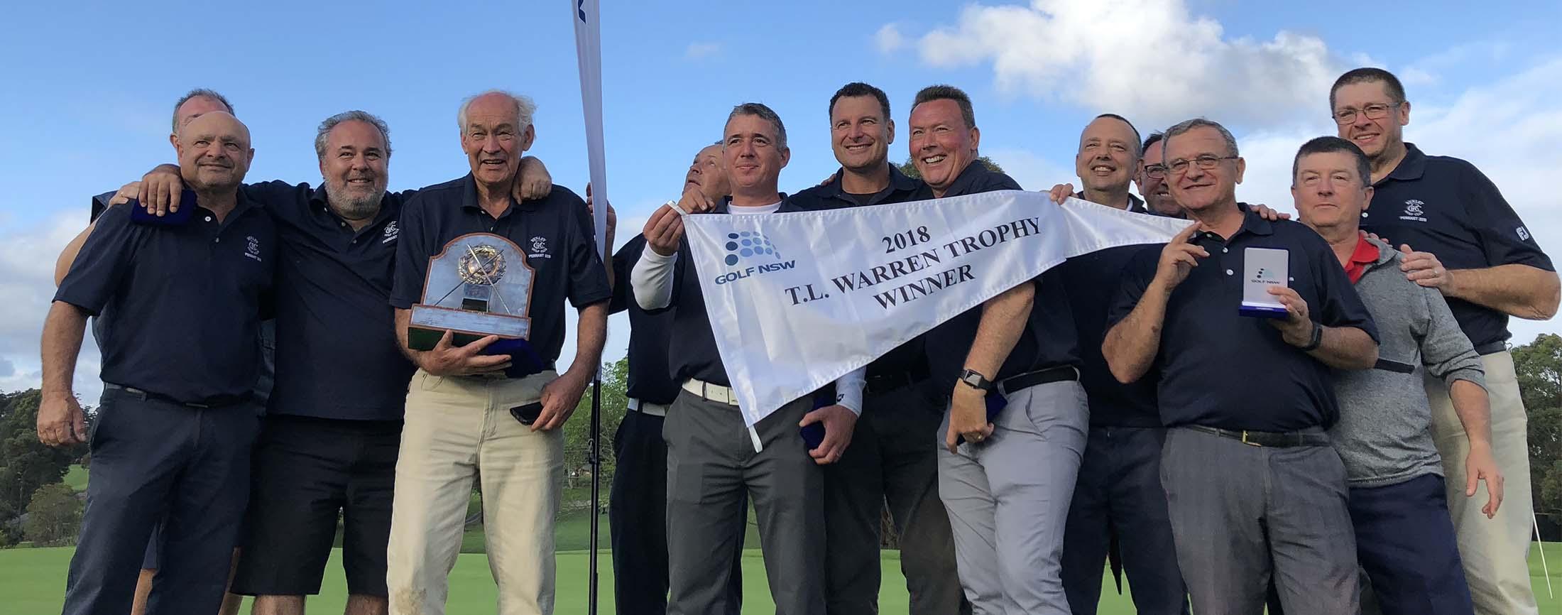 2018 TL Warren Winners