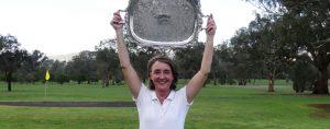 Jan Crichton 2018 Women's NSW Sand Greens Champion