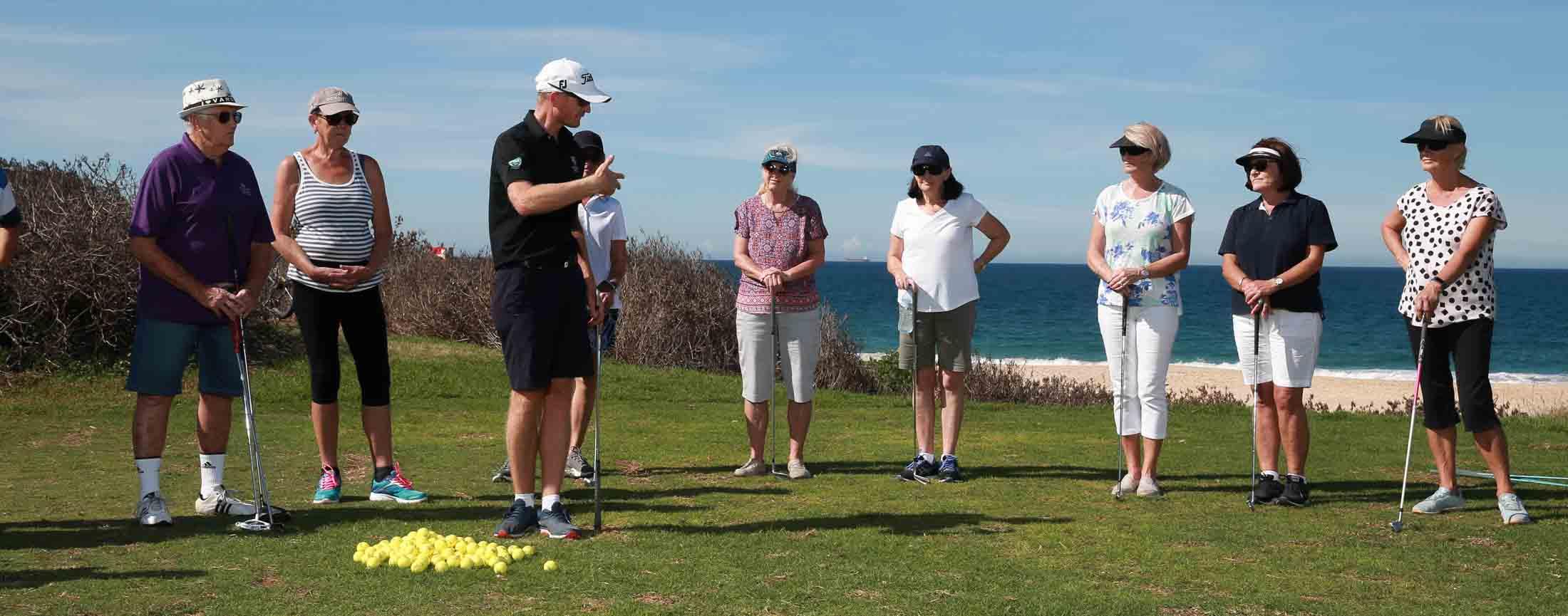 Get into golf for seniors