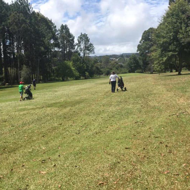 Views of the golf course at Dorrigo RSL Golf Club
